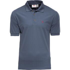 Fjällräven Crowley Piqué Poloshirt Heren, blauw